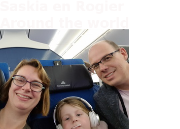 Saskia en Rogier- Around the World